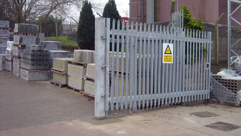 Fence Post and Gate Bonding from ERICO - ERICO International