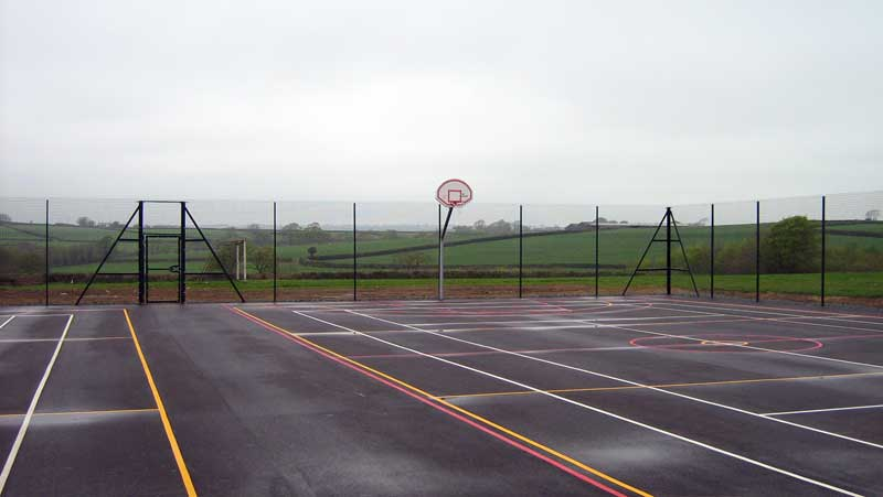 SPORTS ARENA MESH WIRE FENCING
