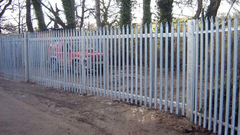 Palisade security fencing contactors